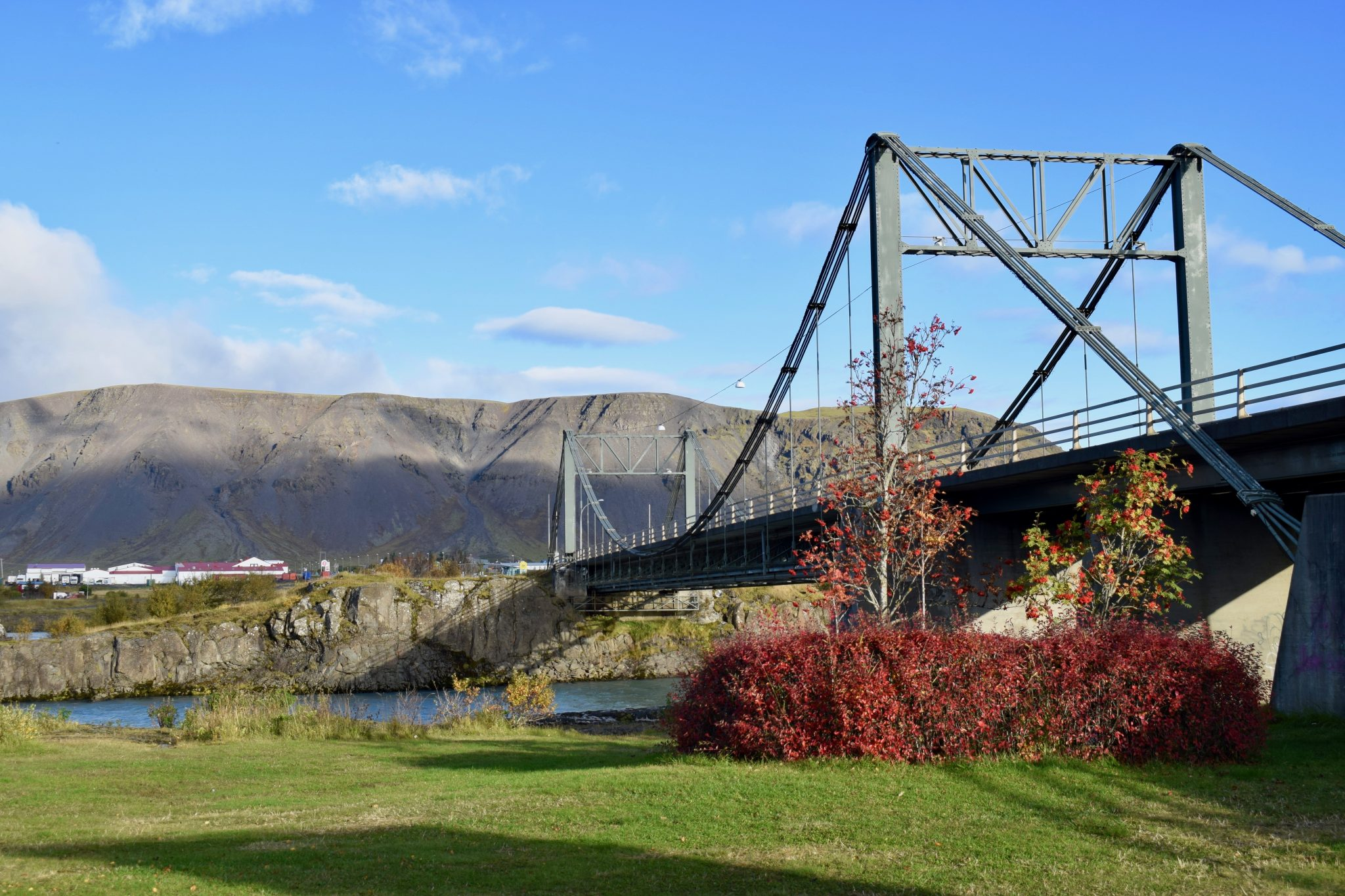 Selfoss Iceland Bridge Arctic Nature Hotel