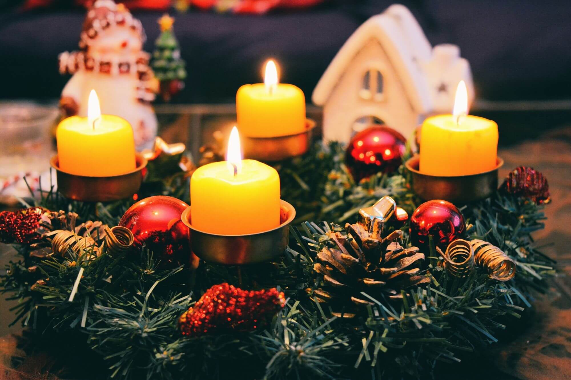 candles - Iceland Christmas Traditions